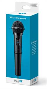 Nintendo WiiU Wired Microphone (Black)