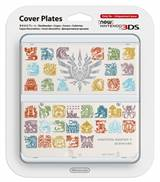 Cover Plates MH4U White (New Nintendo 3DS)