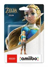Nintendo Amiibo - TLOZ Breath Of The Wild - Zelda