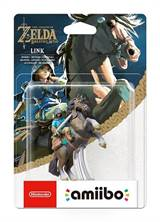 Nintendo Amiibo - TLOZ Breath Of The Wild - Link Rider